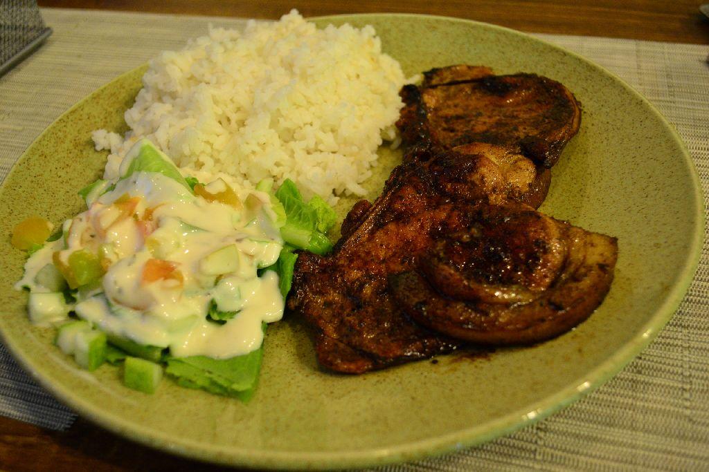 Rego's Grilled Porkchop