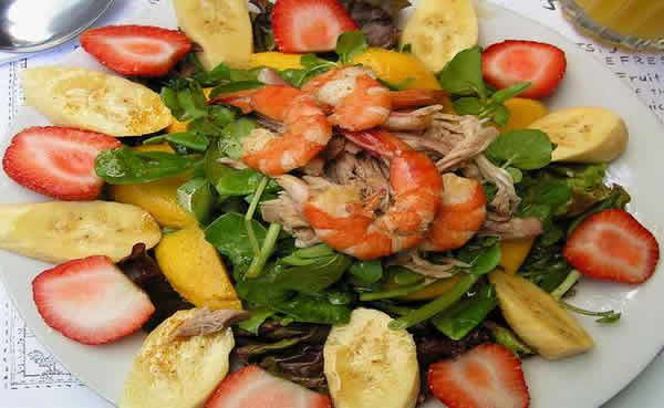Philippine Food - Cafe Salad