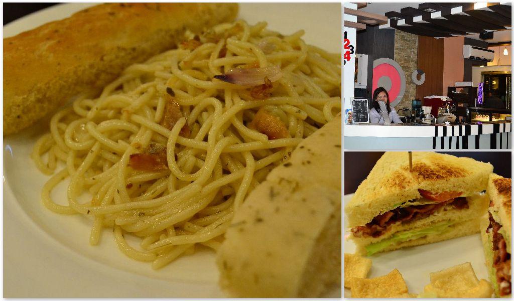 Bulad Pasta and BLT