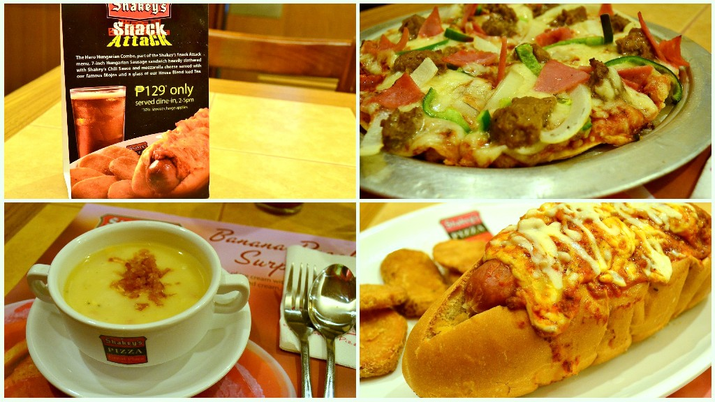 shakeys Snack Attack: Shakeys Pizza at Abreeza Mall