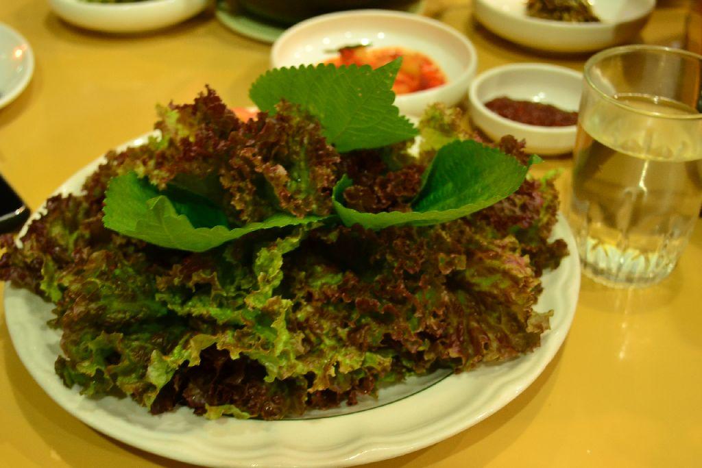 Somang Kimchi - Korean Lettuce, sangchu