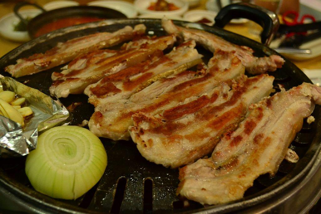 Somang Kimchi - Samgyeopsal, P320 per order