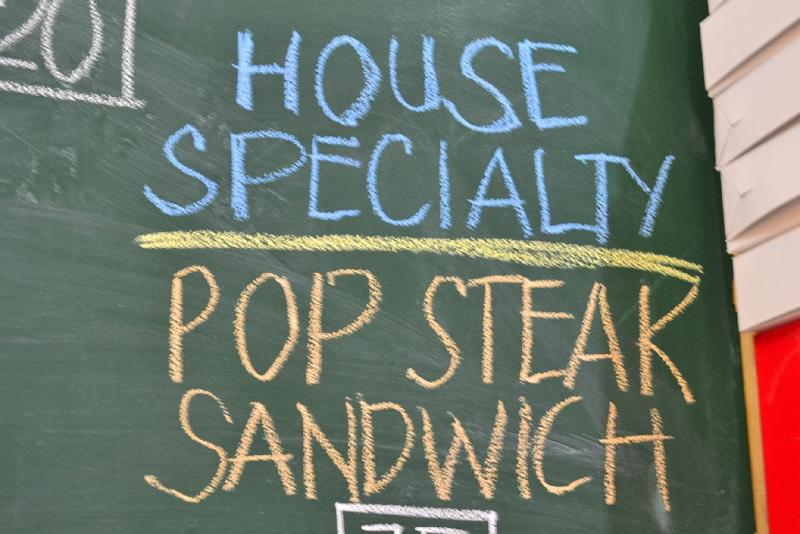 pop steak sandwich menu Pop Steak Sandwich All the Way