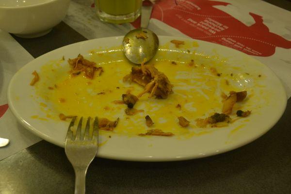 No Leftovers!