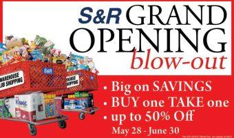 S&R Davao Membership Shopping