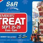 S&R Members Treat