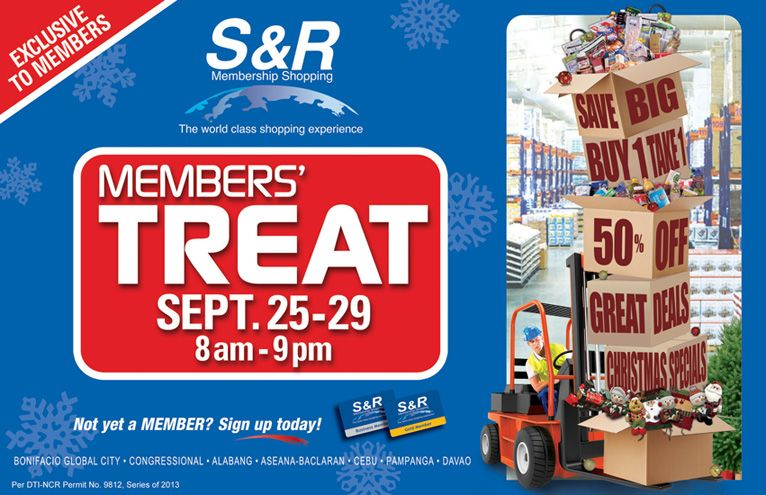 Snr Members Treat On September 25 29 2013