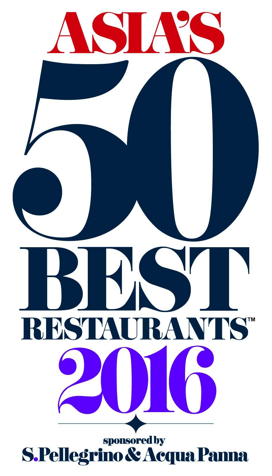 Asia's Best Restaurants 2016