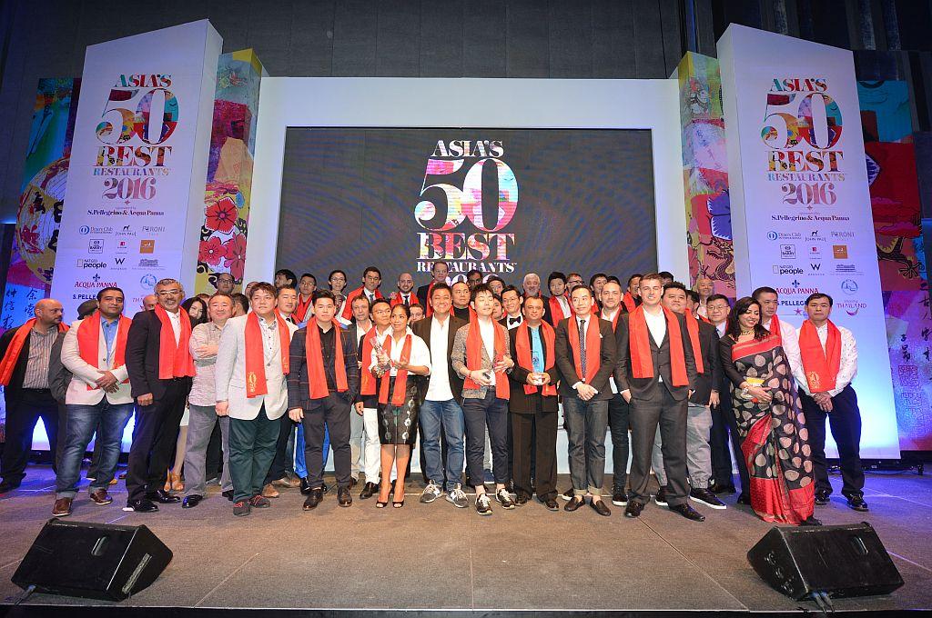 Asia's 50 Best Restaurants Group Chefs