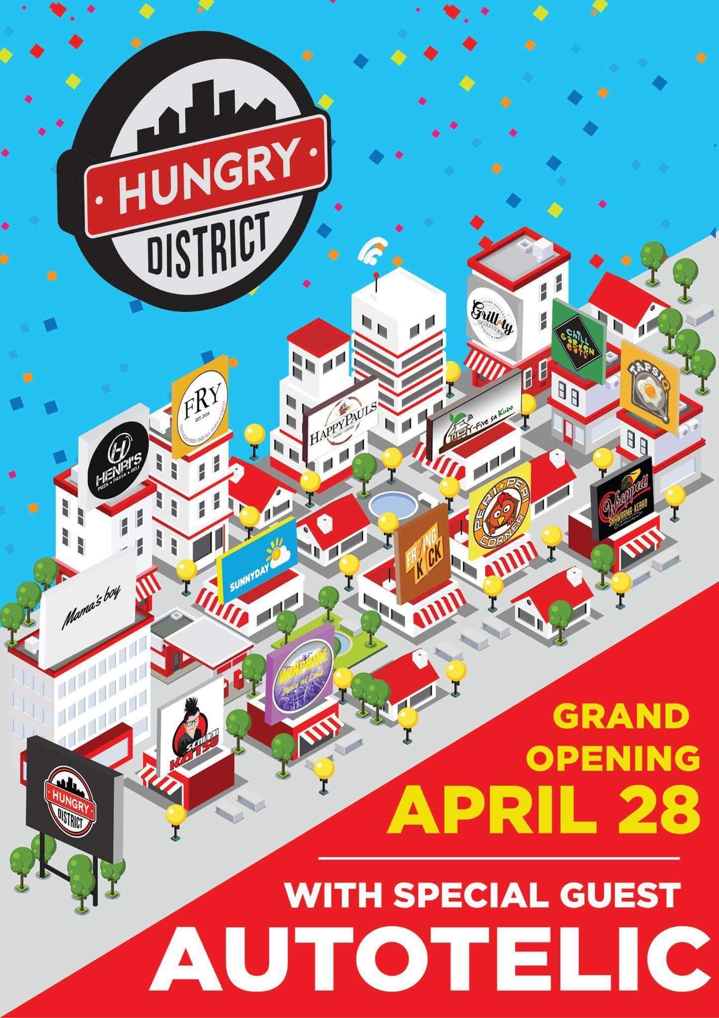 The Hungry District Food Hub