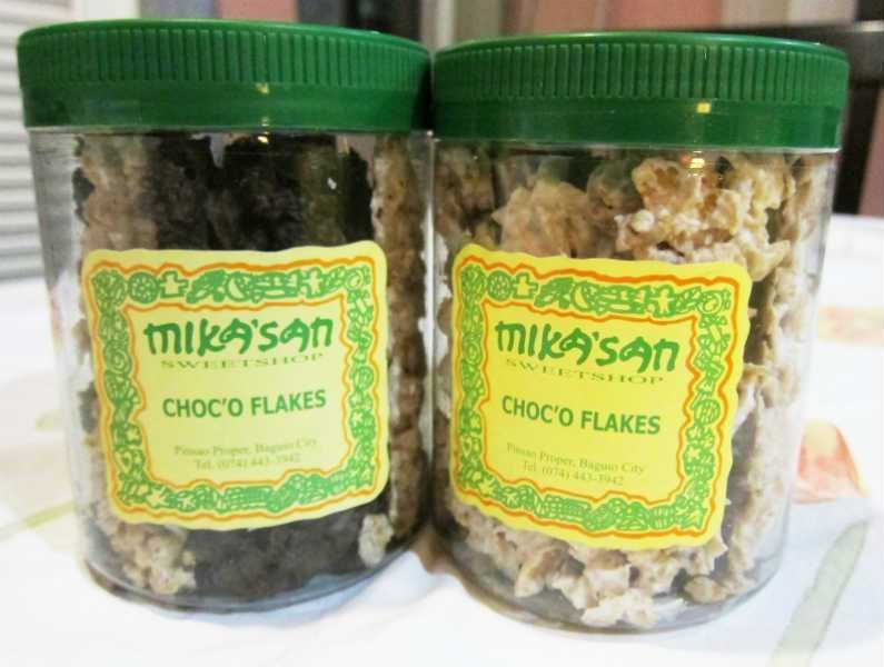 Baguio Delicacies - Mika'San Choc'o Flakes