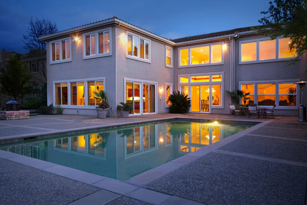 Real Estate Property Photography Night
